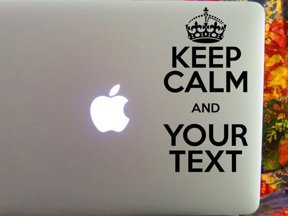 Keep calm decal etsy listing at https www etsy com