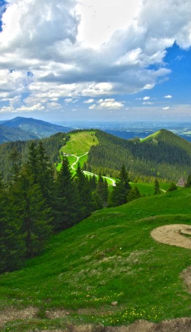 Ta en fottur i naturskjønne Bayern når du besøker Tyskland.