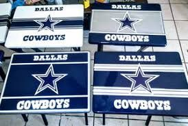 Image result for dallas cowboys painted tv tray