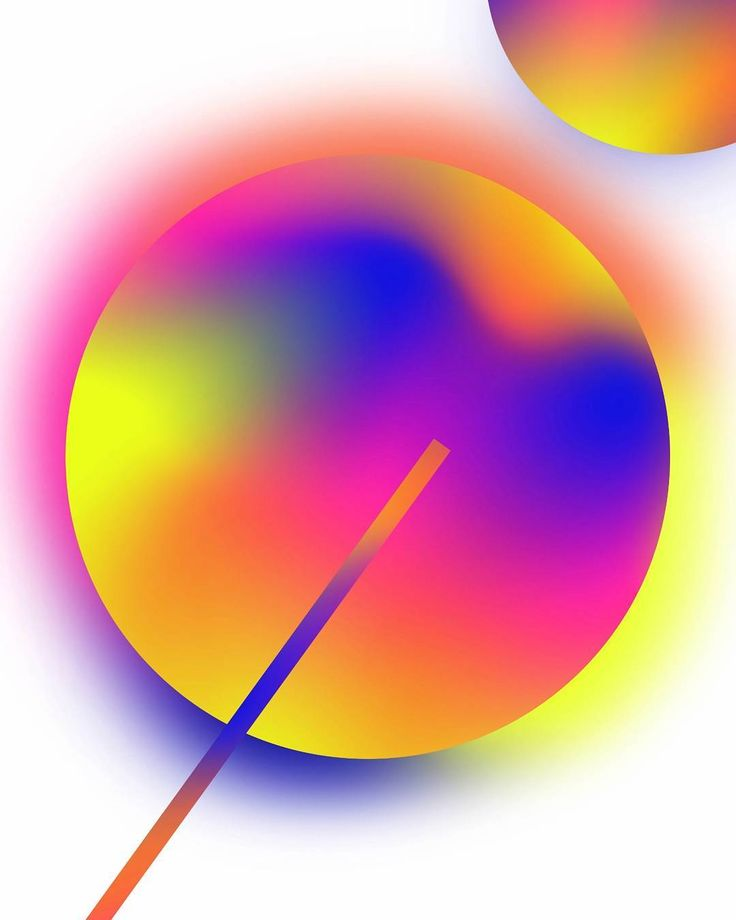 Gradient geometric shapes #abstract #gradients #graphicdesign #colours #colourful