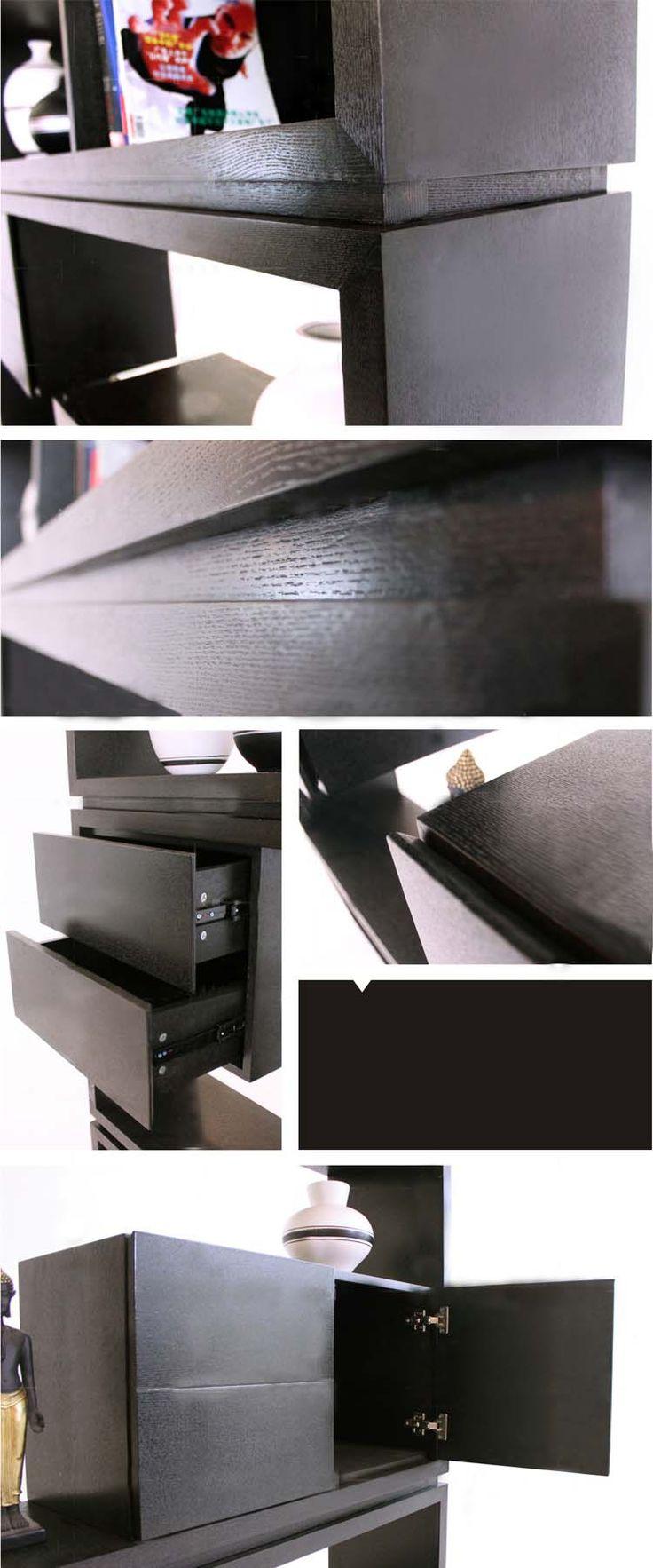 Черный книжный шкаф в стиле модерн и минимализм купить в интернет-магазине https://lafred.ru/catalog/catalog/detail/23300656092/