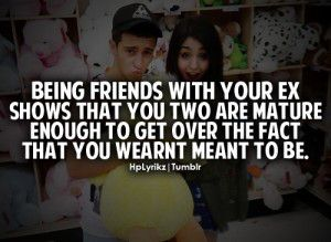 Image result for friends after breakup
