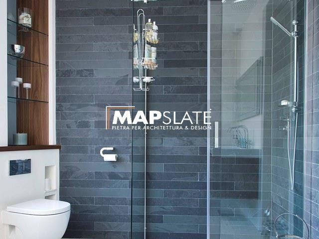 Oltre 25 fantastiche idee su bagno in ardesia su pinterest - Top cucina pietra naturale ...
