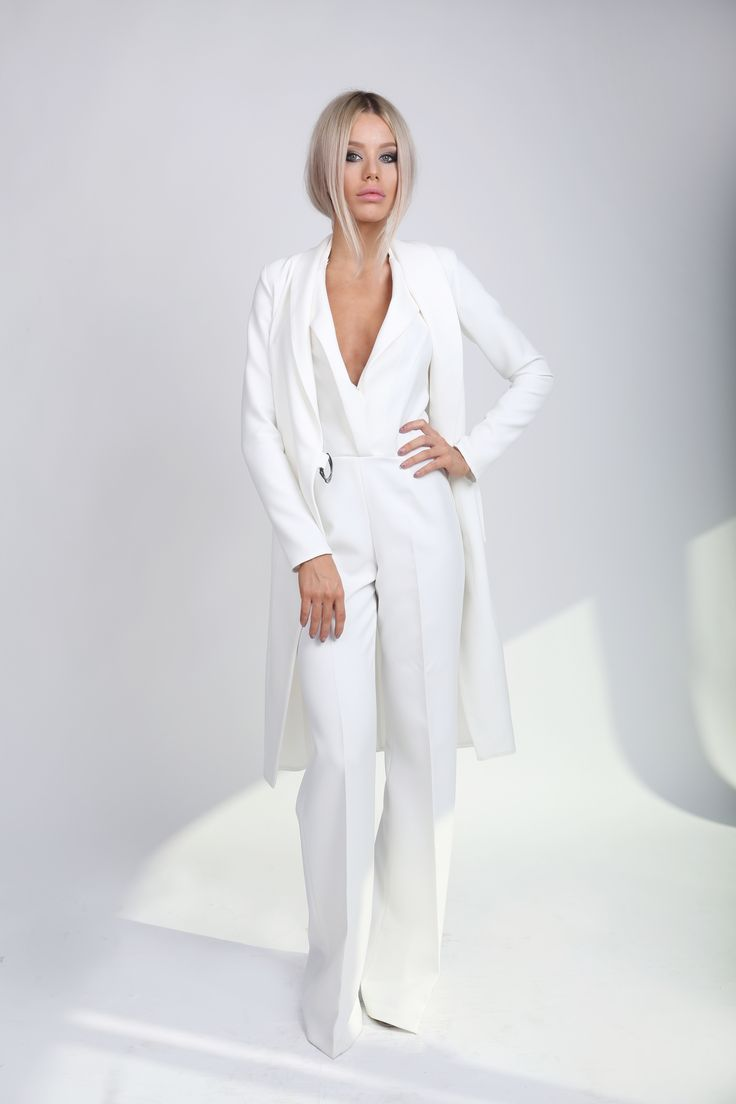 White Trench Coat! wear it as a trench or as a dress!