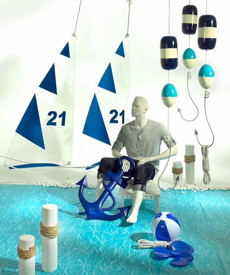Navighiamo e ascoltiamo il mare: vele, boe, ancore e corde (I'm Sailing)