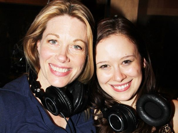 Marin Mazzie and Molly Ranson record the CARRIE cast album