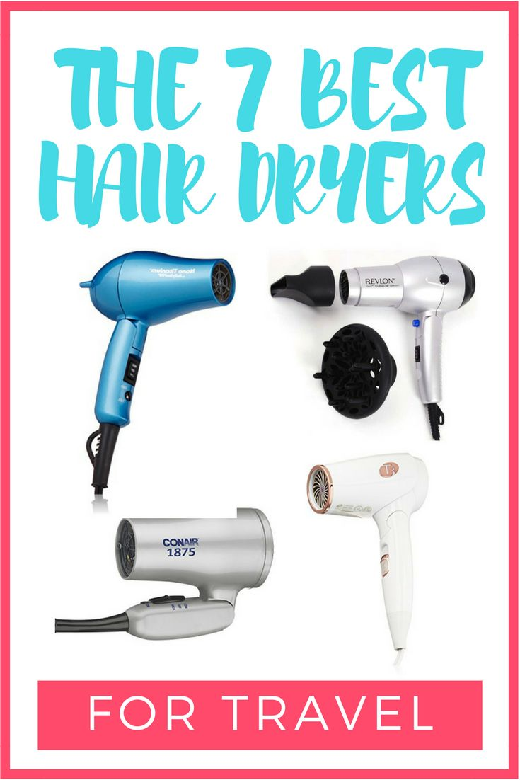 The Best Hair Dryers for Travel