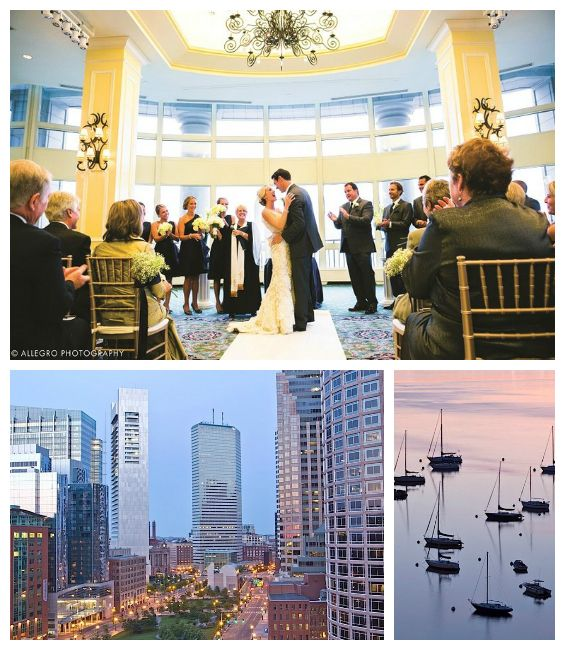 When you book your wedding at Boston Harbor Hotel, they'll give you a free pair of Jimmy Choo shoes! Click for more details.