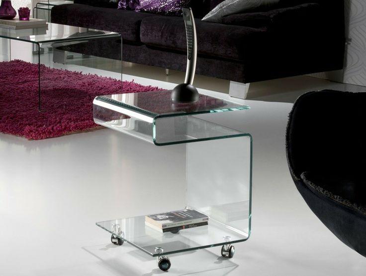 Mesa Auxiliar Glass Transparente  http://www.ambar-muebles.com/mesa-auxiliar-glass-transparente.html