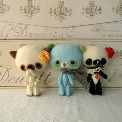 felt: Felt Create, Heartfelt, Felt Dolls, Blue, Felt Yummy, Felt Fun, Virtual Dolls, Ginger Melon Dolls, Felt 3D
