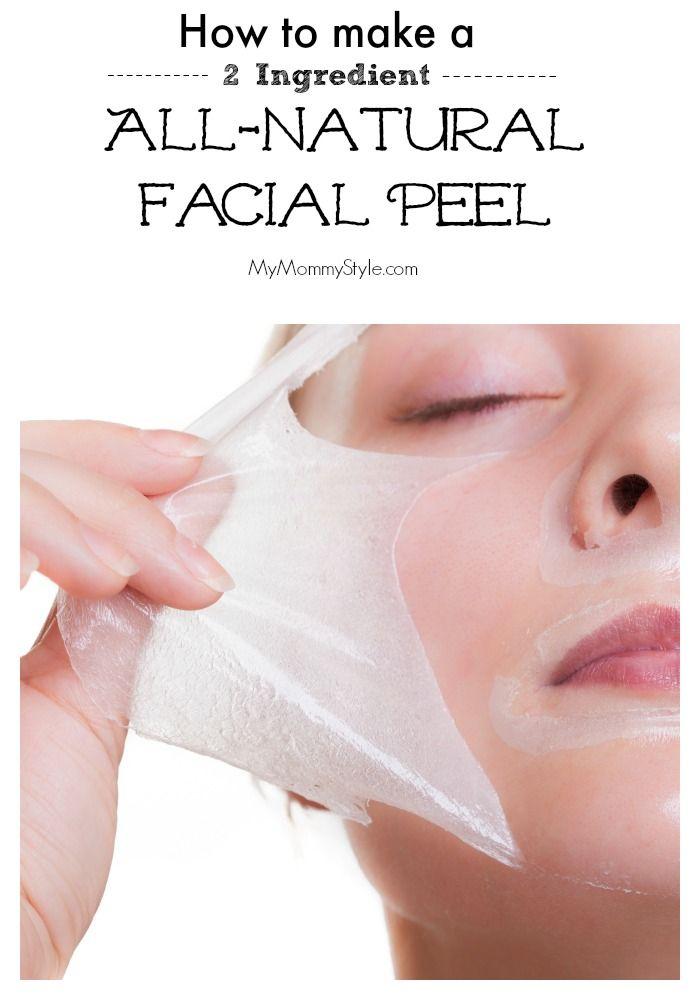 Easy and natural ingredients for a facial peel that will leave your skin feeling fresh and smooth.