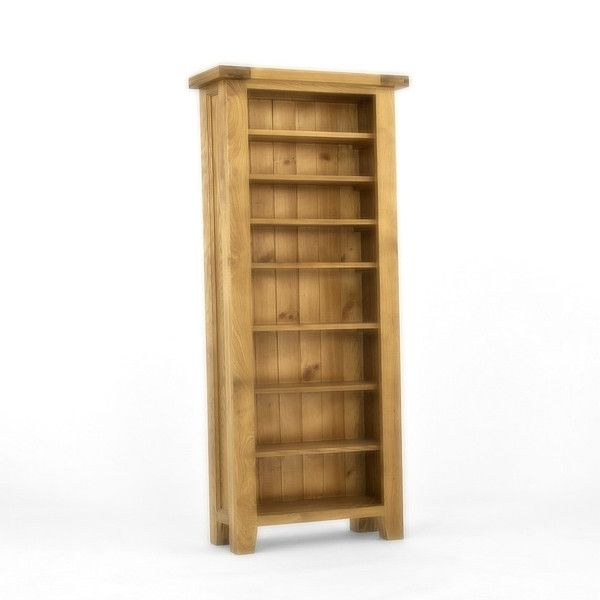 Provence Oak CD/DVD Bookcase