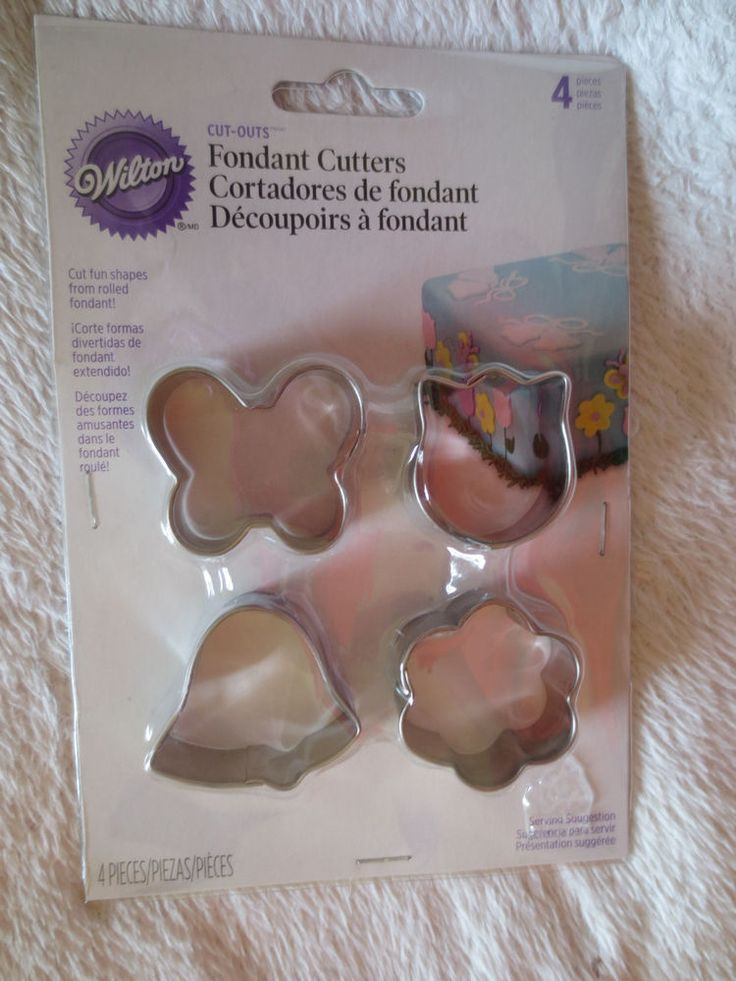 Wilton Fondant Garden Shape Cut Outs Metal Cutters Cake Deco New  Wilton. 22 best Wilton Cake Decorating Tool and Fondant images on