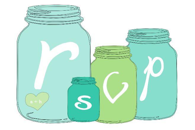 website for mason jar invites