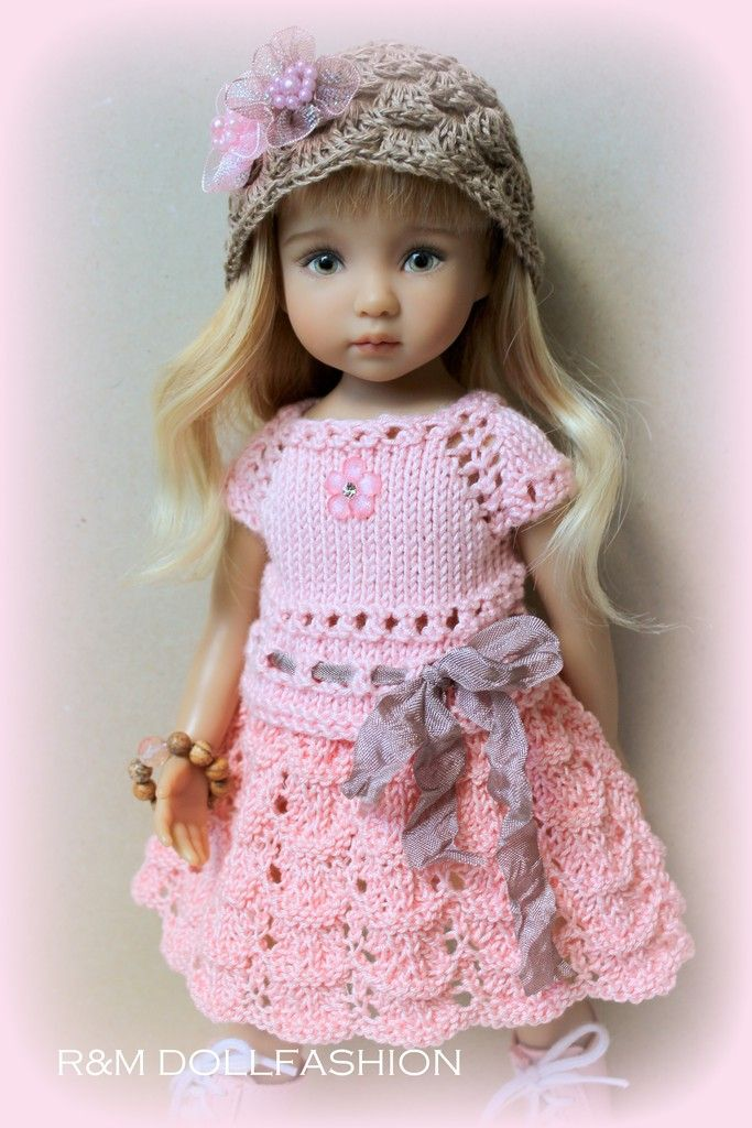 Knitting Patterns For Porcelain Dolls : 1248 best images about Knit and Crochet for Doll on ...