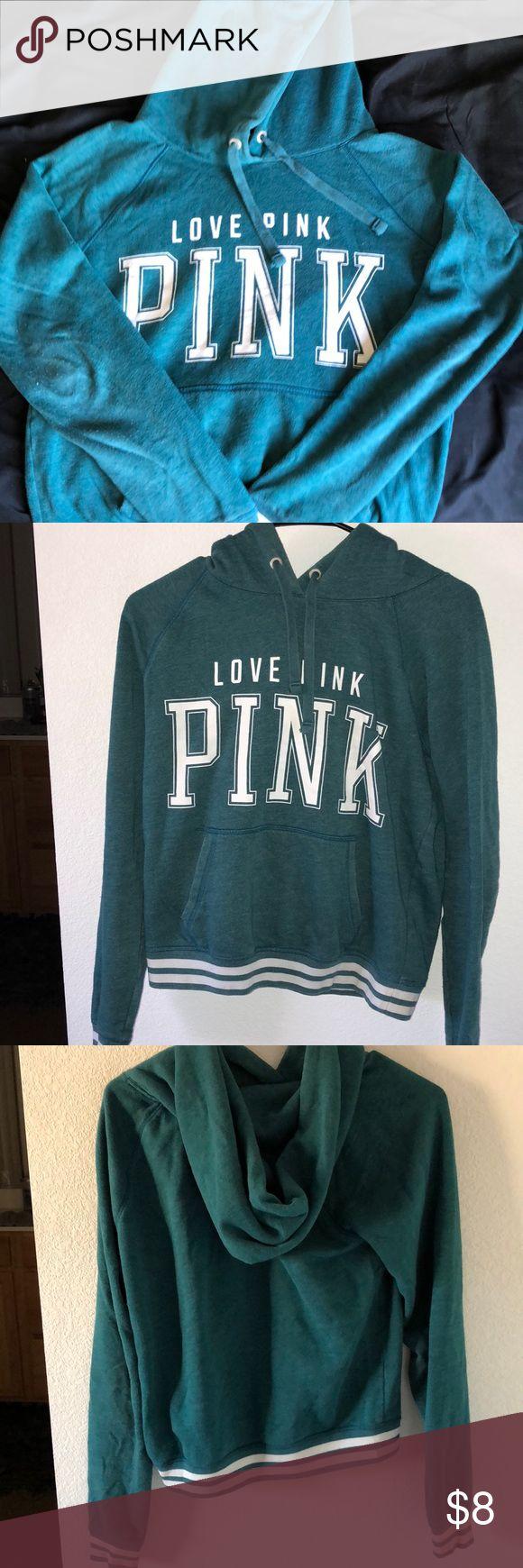 Women's Victoria Secret Pink hoodie Women Victoria Secret Pink hoodie size small good condition. PINK Tops Sweatshirts & Hoodies