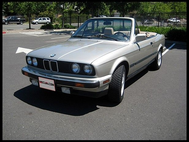 1990 Bmw 325i Convertible Cars Motorcycles E30