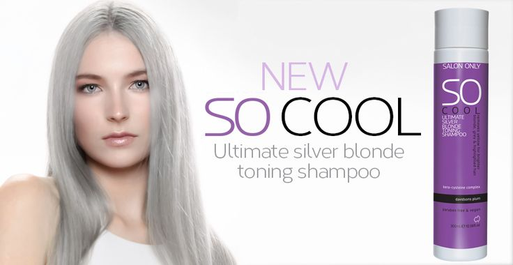 SO COOL - the ultimate silver blonde toning shampoo