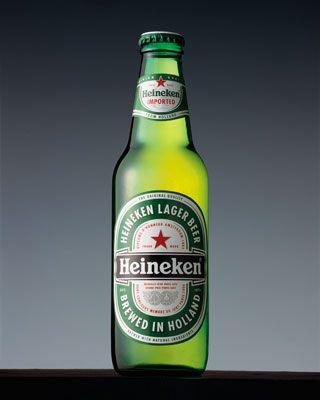 Heineken Lager Beer  Heineken Nederland B.V. Euro Pale Lager 5.00 (3)
