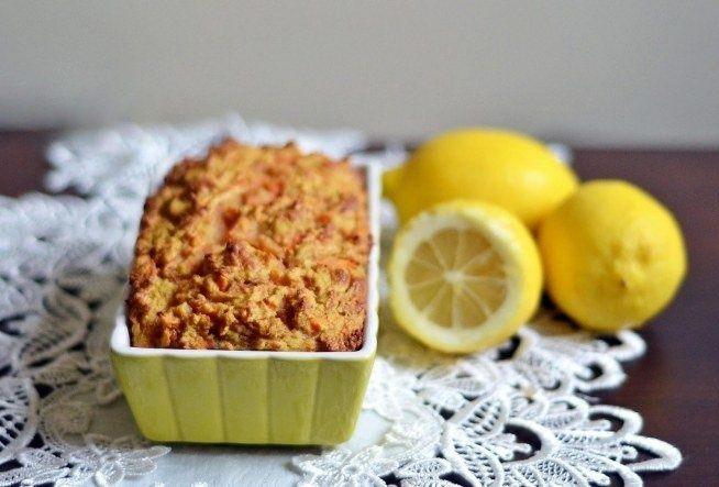HEALTHY DIETARY CAKE coconut-carrot with lemon #cake #food #cooking #diet #fitness #fit #sweetness #slimming #cookies