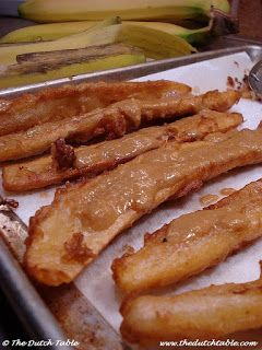 The Dutch Table: Baka Bana (Surinamese Fried Plantain)