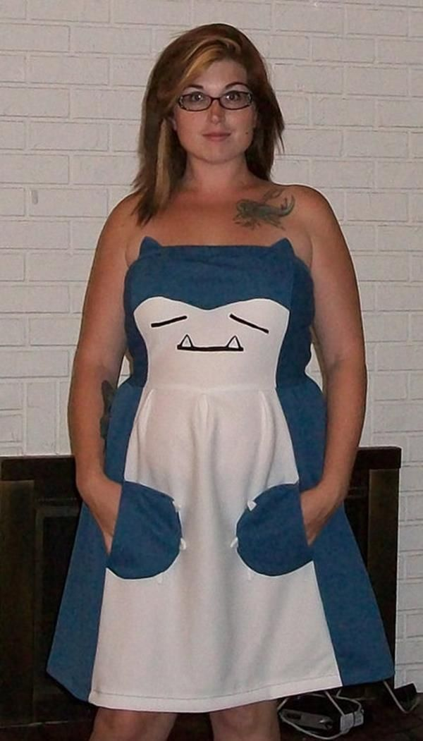 These Pokemon Dresses Turn You Into Snorlax Or Venasaur
