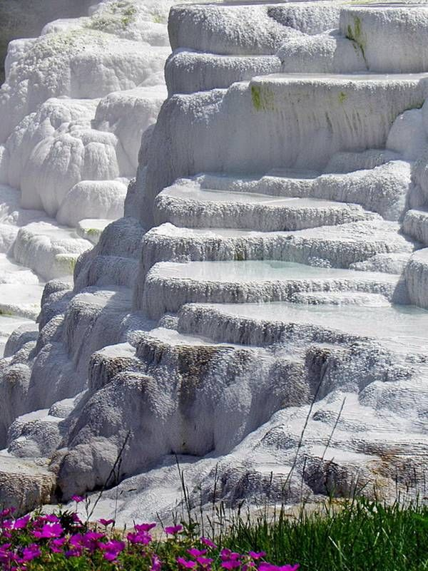 Salt hills with thermal water in Egerszalók — Hungary