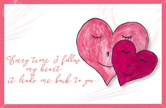 Romantic template by digitalopedia on Creative Market