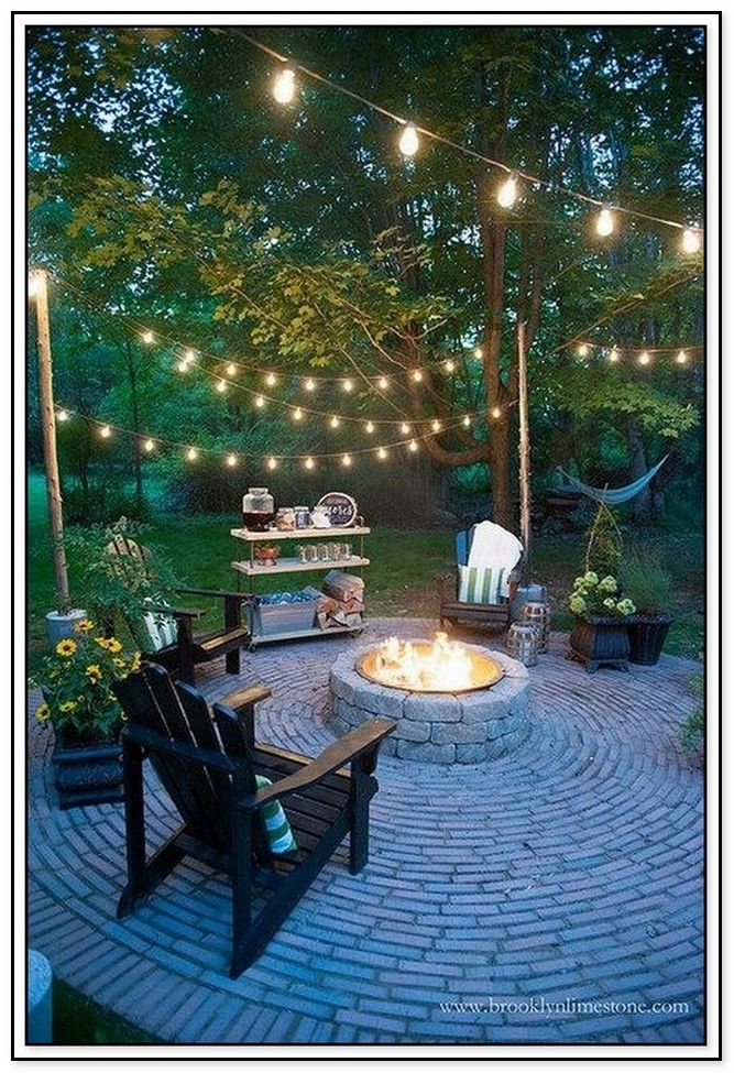 45 Backyard Fire Pit Ideas With Cozy Seating Area In 2020 Backyard Fire Fire Pit Backyard Backyard Decor