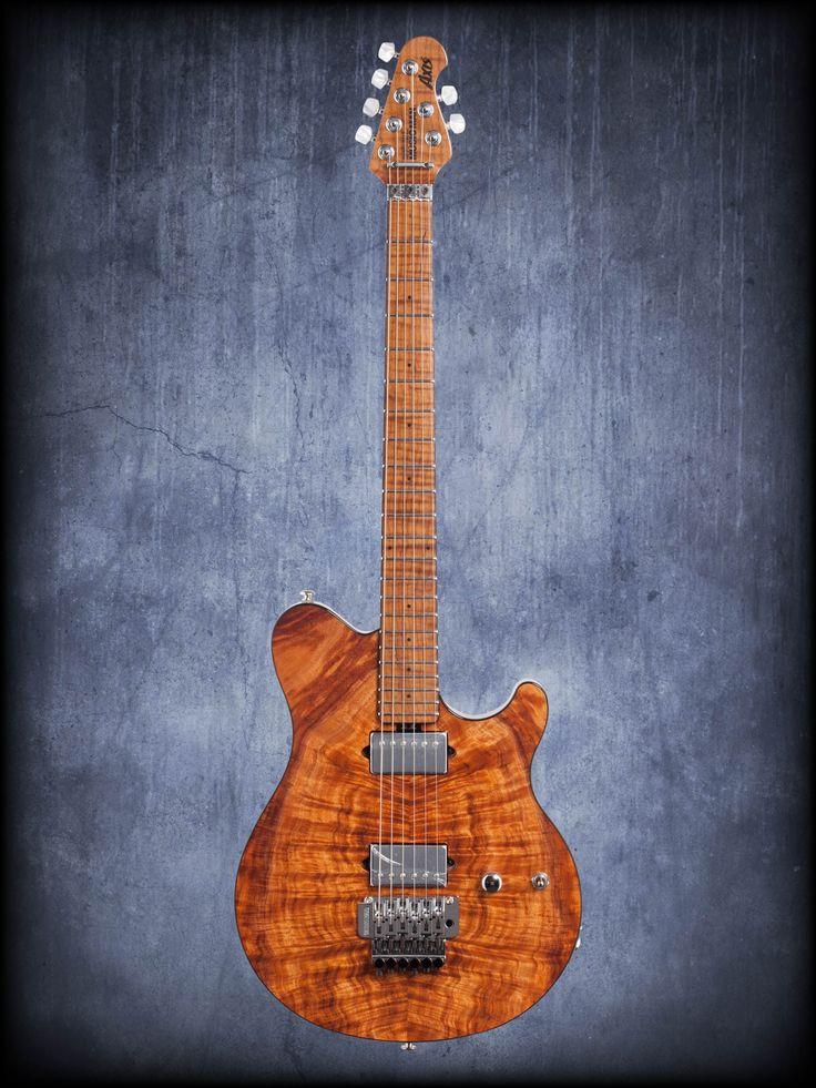 Ernie Ball Music Man - BFR Axis Electric Guitar with Case Koa Top #Guitar