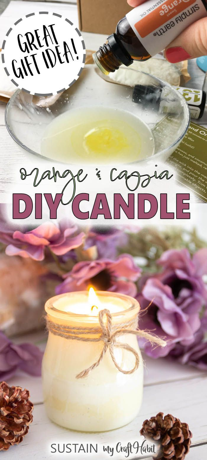 Learn how to make your own candles! Diy candles scented