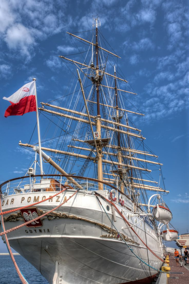 Dar Pomorza   Gdynia, Poland - #Sumfinity HDR Photography