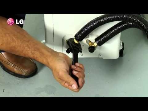 Ar condicionado by Gilson Eletricista: Passo a passo para instalar um Split LG inverter.