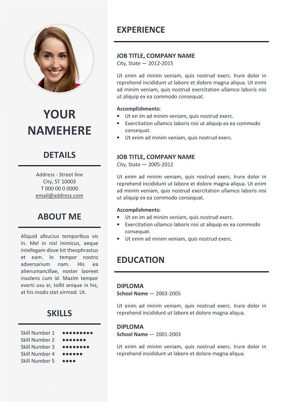 11 best job search images on Pinterest Job search, Career and - elegant resume templates