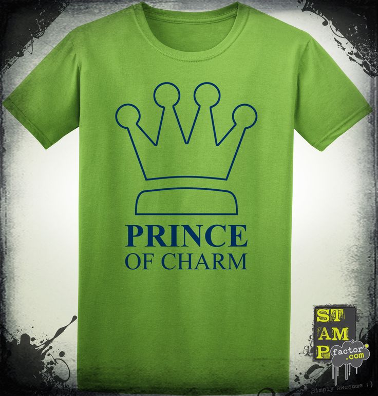 I Am The Prince (Dark Midnight Blue) 2014 Collection - © stampfactor.com *T-SHIRT PREVIEW*