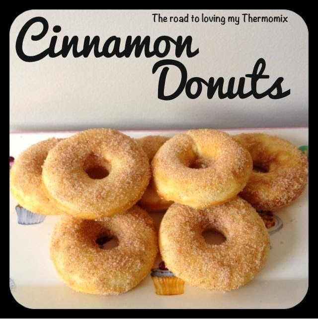 Cinnamon Donuts - The Road to Loving My Thermo Mixer