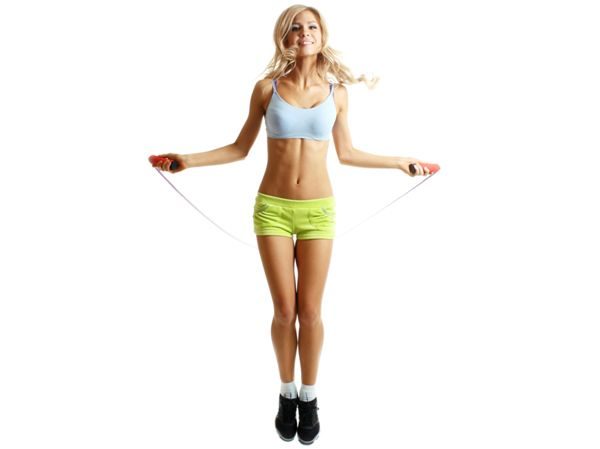 Skipping Rope for Toned Muscular Thighs:About 400 jumps on a daily basis would be the perfect solution to cellulite and achieving great toned thighs worth showing off.