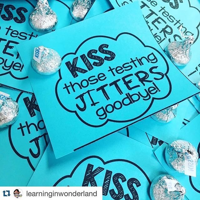 @learninginwonderland already has her testing treats prepped!  Is your school testing soon? Grab this FREEBIE pack from my shop! Direct link temporarily in profile. #iteachtoo #iteachsecond #iteachthird #iteachfourth #iteachfifth #teacherproblems #studentproblems #sysytemproblems #testingseason