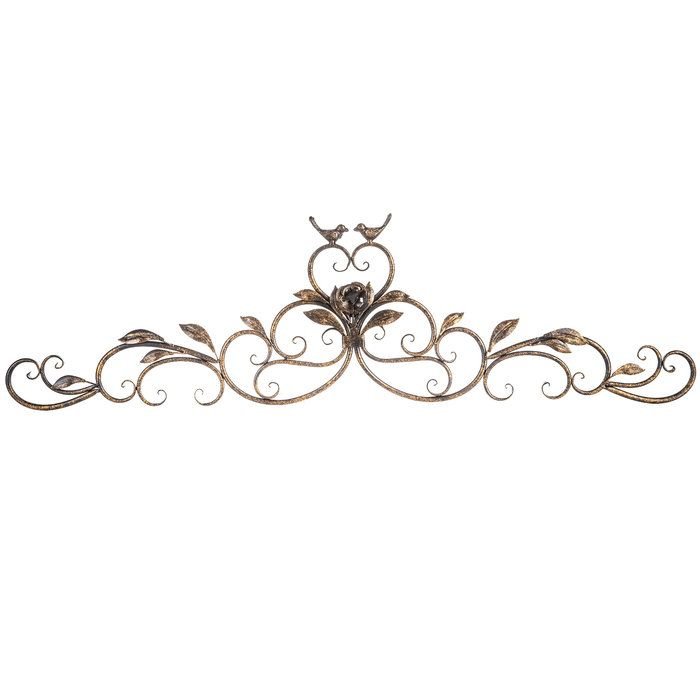 Twin Birds Scroll Metal Wall Decor Hobby Lobby 1120625 Metal Scroll Wall Art Metal Wall Decor Metal Wall Decor Bedroom