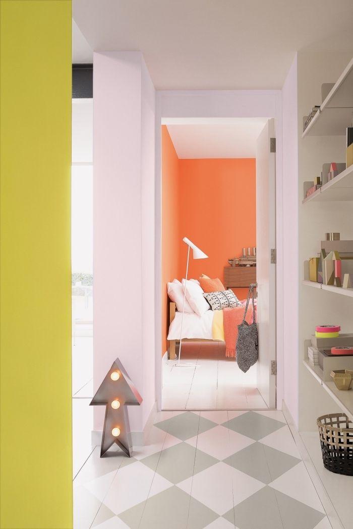 1001 Idées De Couleurs Pour Une Peinture Couloir