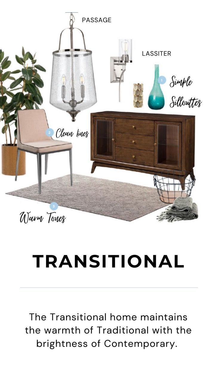 Transitional Interior Design Inspiration Mood Board For Diy Projects With Glass Meta In 2020 Transitional Interior Design Interior Design Inspiration Interior Design