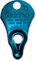 The Tick Key easily removes embedded ticks from skin—and it fits on a keychain or dog collar. Available at REI, 100% Satisfaction Guaranteed.