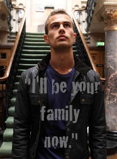 Initiates, meet your instructor: Tobias Four Eaton in Divergent (portrayed by Theo James) LOVVVEEEE