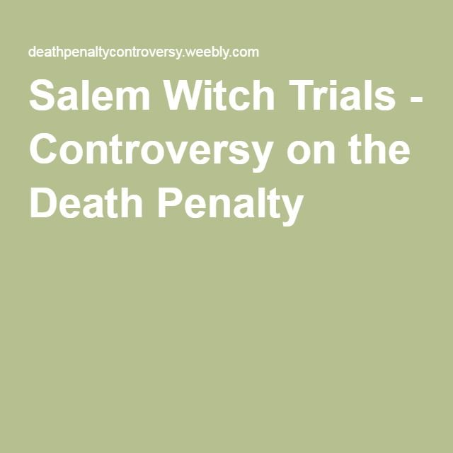 salem witch trials and vengeance Salem witch trials dbq the salem witch trials, of 1692, occurred in salem massachusetts this is a case where people accused other people of witchcraft salem was a town governed by strict puritan religion, and to have such a charge labeled against you could cost you your life.