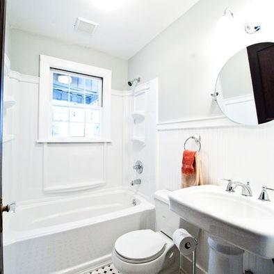 Is That Wood Trim Around A Shower Surround Bathrooms In