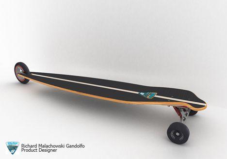 three wheeled skateboards