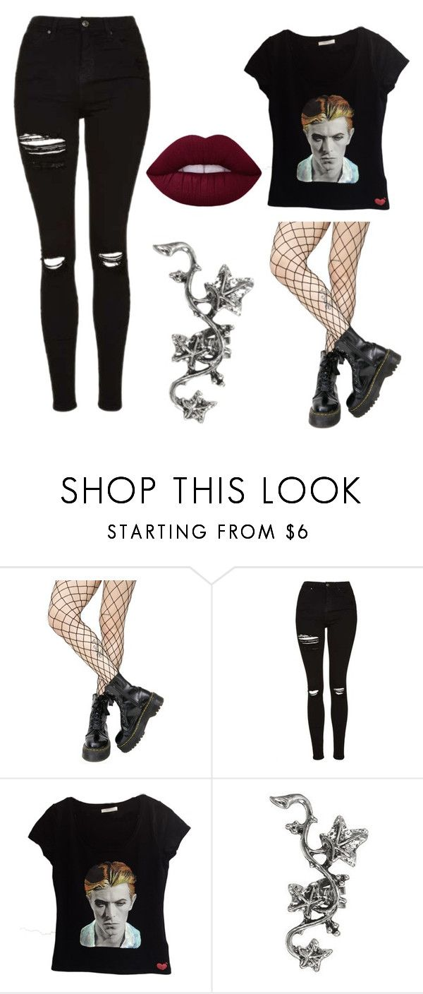 """""""💗"""" by virginia-ness ❤ liked on Polyvore featuring Leg Avenue and Topshop"""