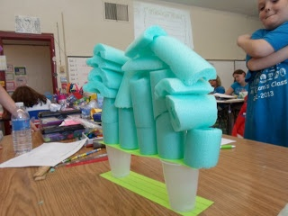 Growing a STEM Classroom: STEM Challenge...Can you build a free-standing tower from all of the noodle pieces?