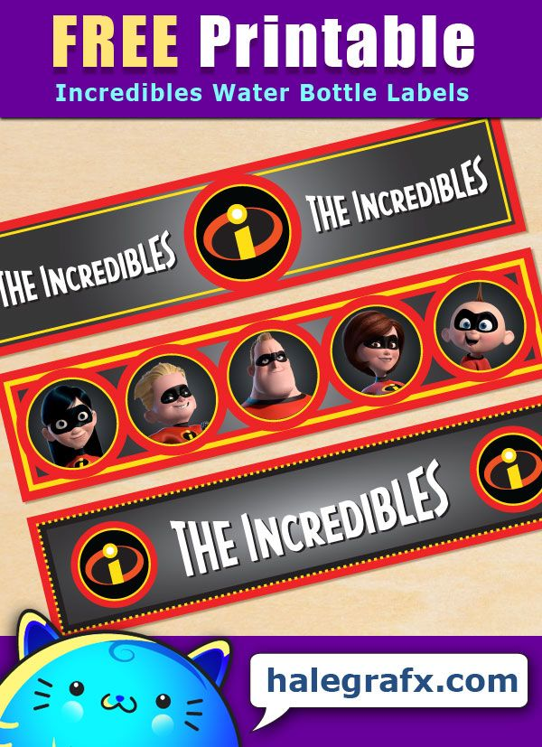 166 Best Incredibles Printables Images On Pinterest