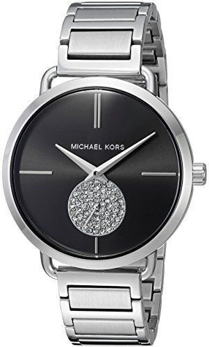 f396a898d366 Michael Kors Watches Collection 2018   2019   Michael Kors Women s Portia  Silver- Tone Watch MK3638 Check out the image